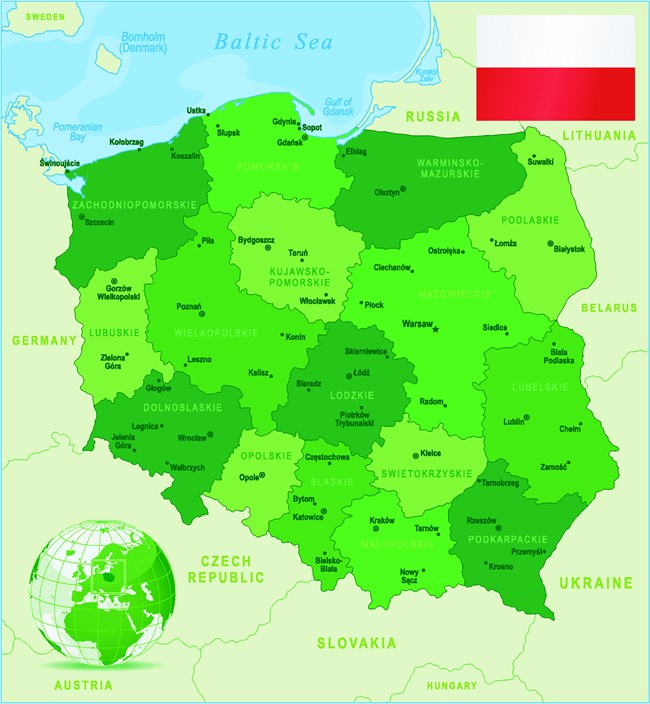 I Stock -472318031 - Poland Map